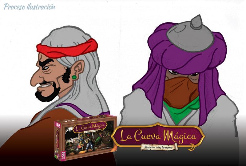 Color ladrones juego de mesa La Cueva Mágica